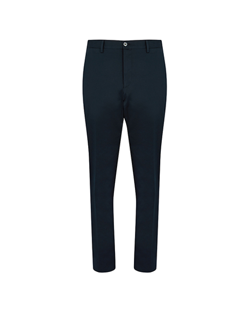 Navy Blue Cotton Trousers