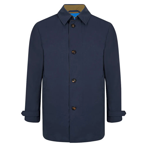 Navy Reversible Raincoat