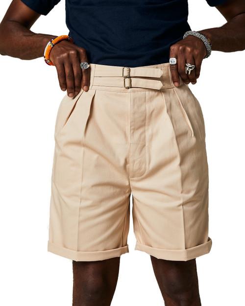 Safari Ecru Shorts
