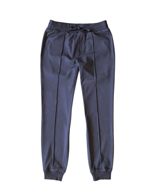 Blue Cotton Joggers