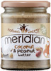 Meridian Coconut & Peanut Butter 280 G x 6 Pack