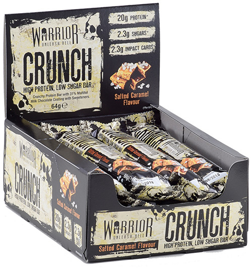 Warrior Crunch Bar x 12 Bars Pack