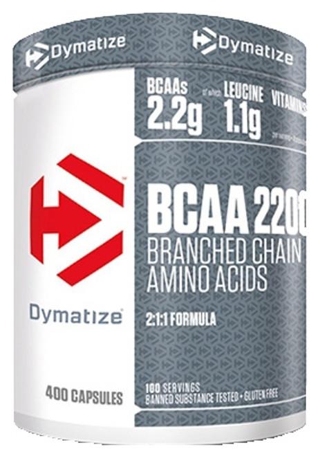 Dymatize BCAA 2200 400 Capsules