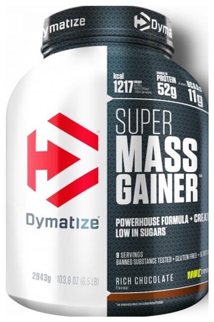 Dymatize Super Mass Gainer 2943 G (6.5 LB) New Look