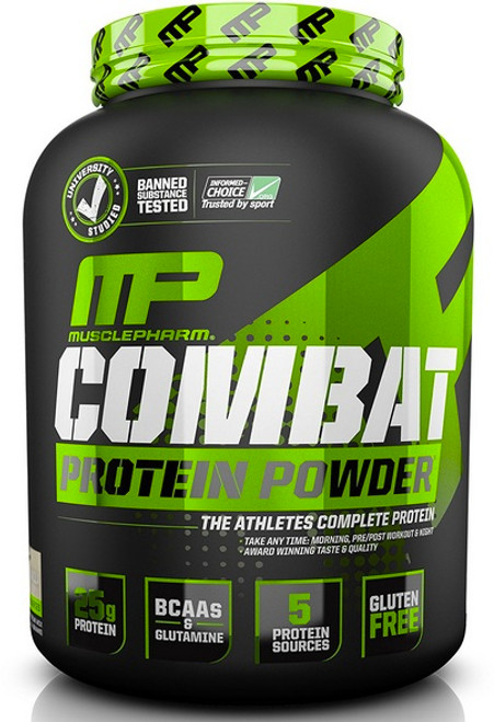 MusclePharm Combat Protein Powder Sport Series 1.8 KG (4 LB)