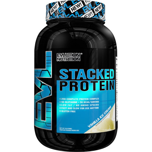 Evlution Nutrition Stacked Protein 900 G (2LB)