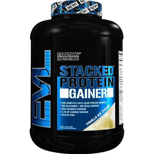 Evlution Nutrition Stacked Protein Gainer 3.2 KG (7LB)