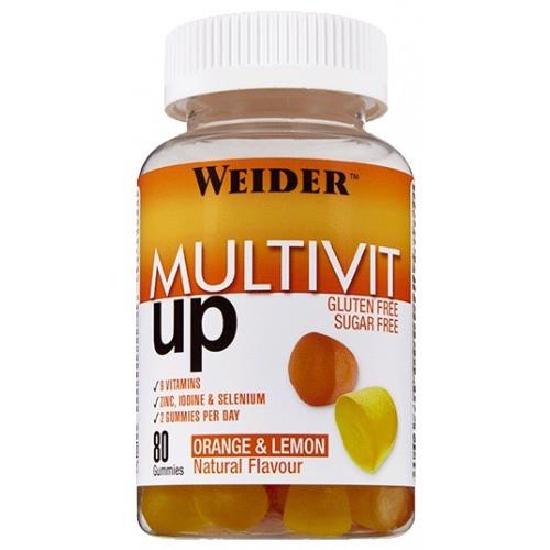 Weider Multivit Up 80 Gummies