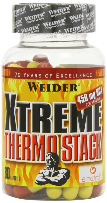 Weider Xtreme Thermo Stack 80 Capsules