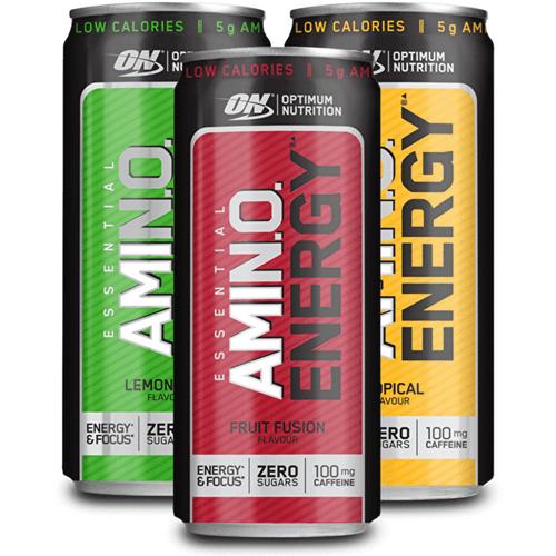 Optimum Nutrition Essential Amino Energy 330 ML X 24 Pack