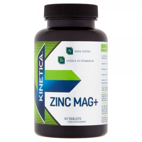 Kinetica Zinc Mag+ 90 Tablets
