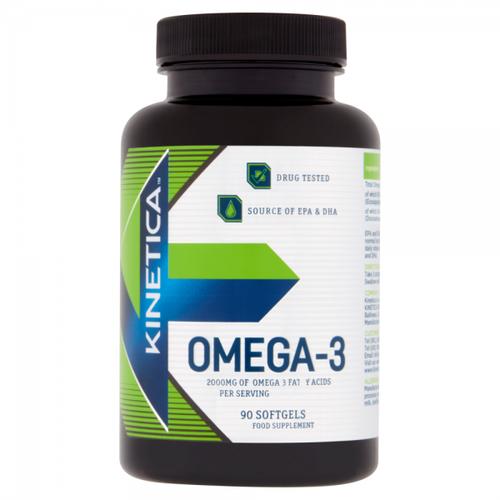 Kinetica Omega 3 90 Softgels