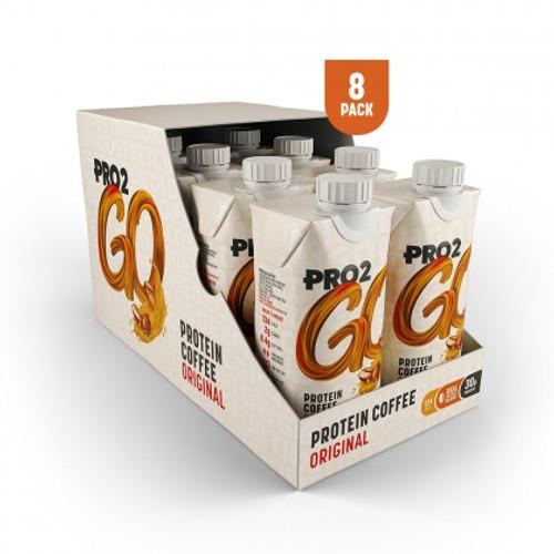 Sci-MX Pro2Go Original Protein Coffee 330 ML x 8 Pack