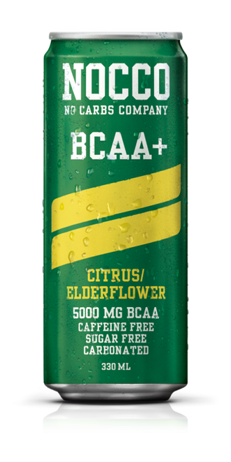 Nocco BCAA+ Carbonated Caffeine Free x 24 Cans Pack