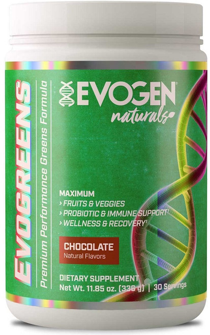 Evogen Evogreens Natural 30 Servings