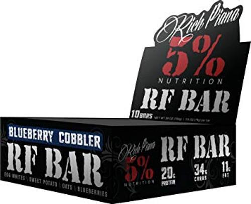 Rich Piana 5% RF Bar x 10 Bars Pack