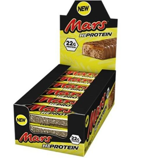 Mars Hi Protein Bar 59 G x  12 Bars Pack