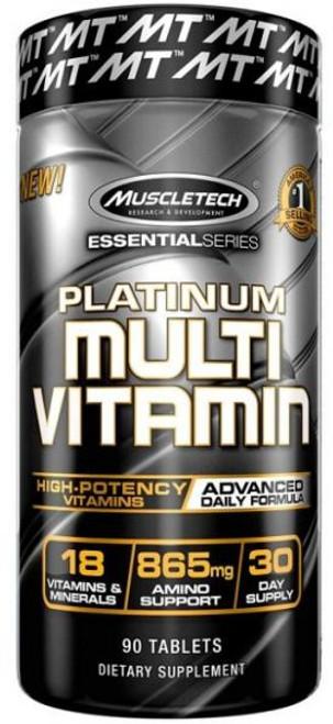 Muscletech Platinum MULTI VITAMIN 90 Tablets