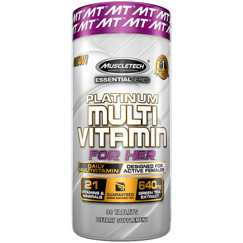 Muscletech Platinum MULTI VITAMIN FOR HER 90 Tablets