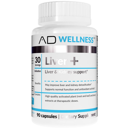 Project AD AD Liver+  90 Capsules