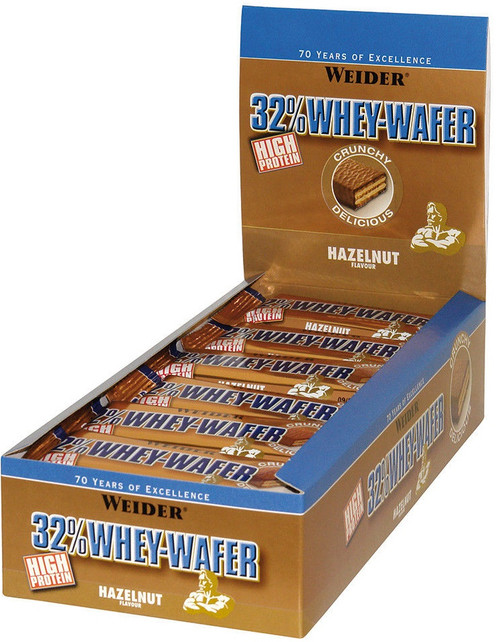 Weider 32% Whey-Wafer Bar  35 G x 24 Bars Pack