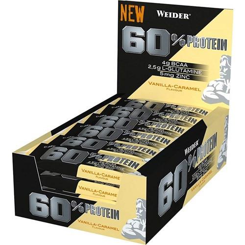 Weider 60% Protein Bar 45 G x 24 Bars Pack