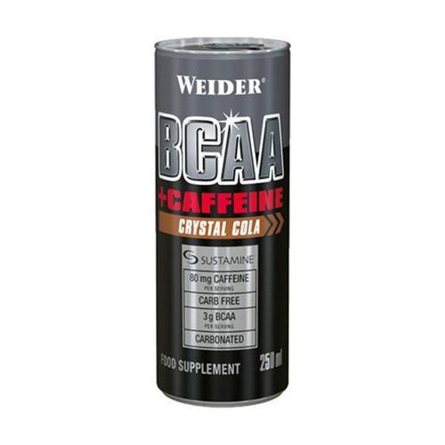 Weider BCAA + Caffeine Drink 250 ML x 24 Cans Pack