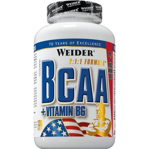 Weider BCAA + Vitamin B6 2:1:1 Formula 130 Tablets