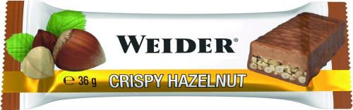 Weider Crispy Bar 36 G x 24 Bars Pack