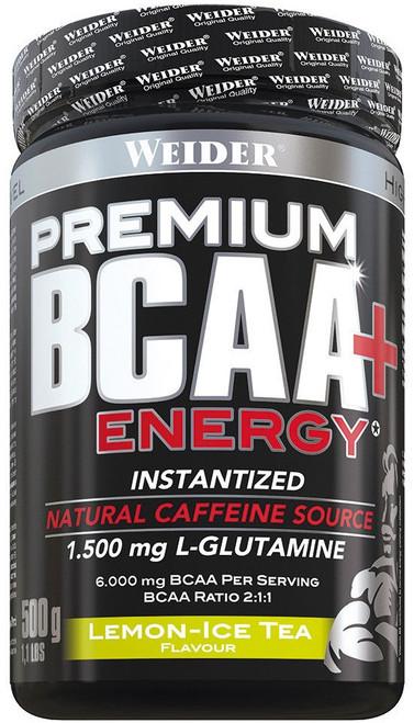 Weider Premium BCAA + Energy Powder 500 G
