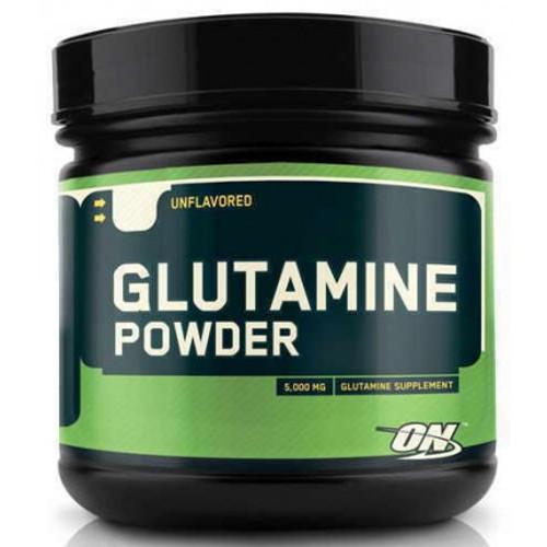 Optimum Nutrition Glutamine Powder Unflavored 600 G ( 21.1 OZ)