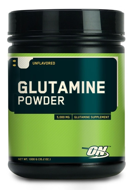 Optimum Nutrition Glutamine Powder Unflavored 1000 G ( 35.2 OZ)