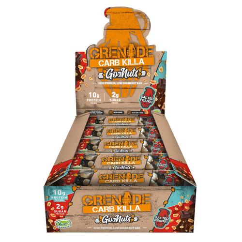Grenade CARB KILLA Go Nuts 15 Bars Pack
