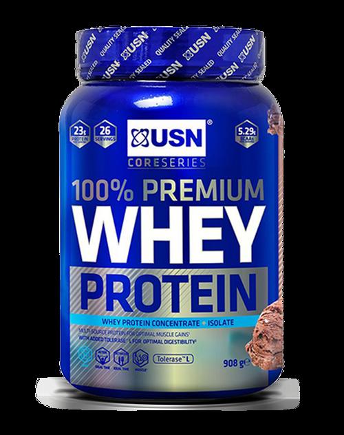 USN 100% Premium Whey Protein 908 G