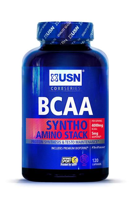 USN BCAA Syntho Amino Stack 120 Capsules