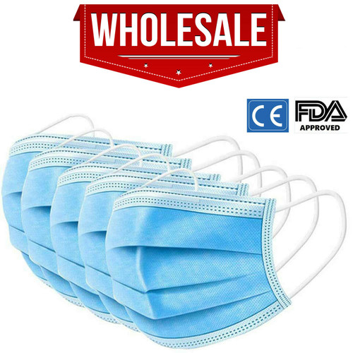 3 Ply Disposable Face  Masks (Non Medical) x 500,000 Pieces Pack