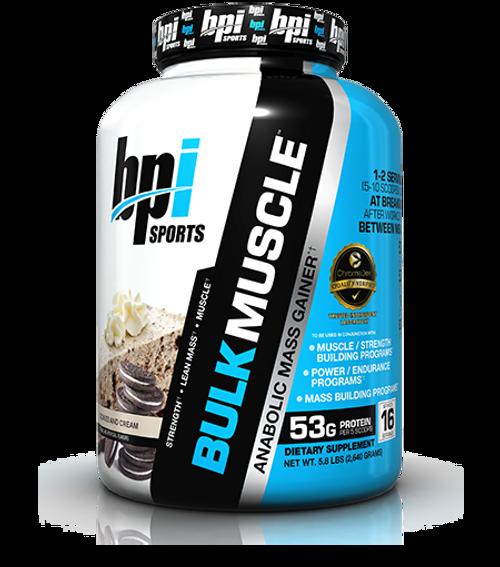 BPI Sports Bulk Muscle Anabolic Mass Gainer 2640 G (5.8 LB)
