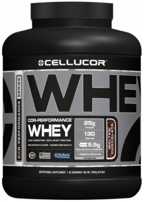 Cellucor Whey 1.8 KG (4 LB) 52 Servings