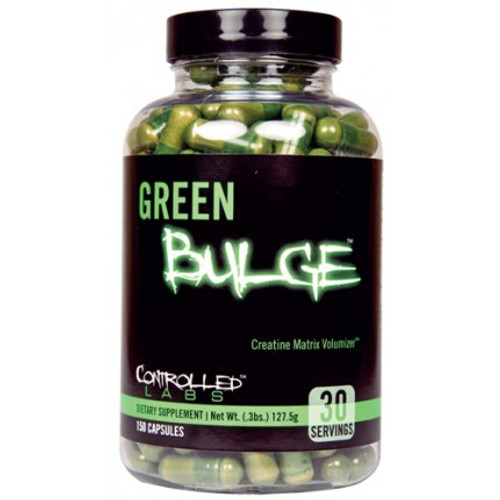 Controlled Labs Green Bulge Creatine Matrix Volumizer 150 Capsules