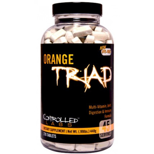 Controlled Labs Orange Triad Multi-Vitamin Joint Digestion & Immune Formula 270 Tablets