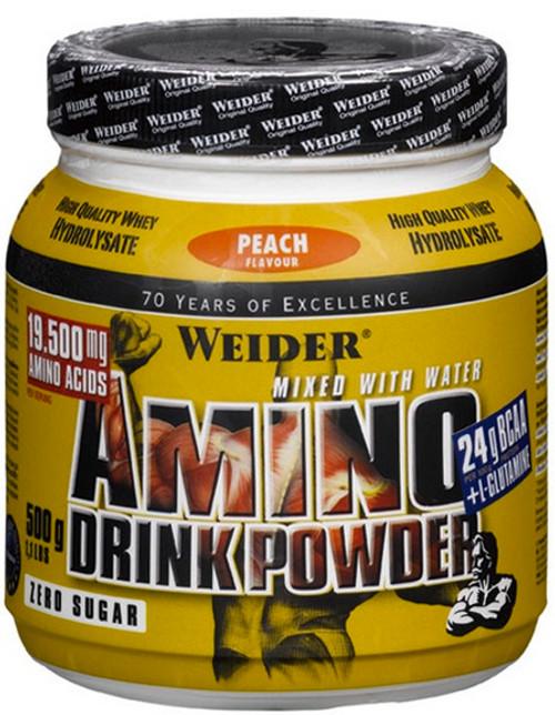 Weider Amino Drink Powder Peach 500G