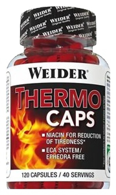 b86019d7c6e Weider THERMO CAPS 120 Capsules - MusclePetrol.com
