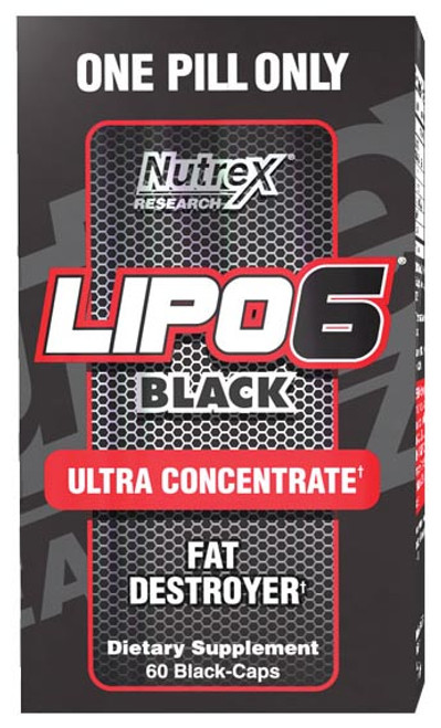 Nutrex Research LIPO 6 Black Caps 60 Capsules