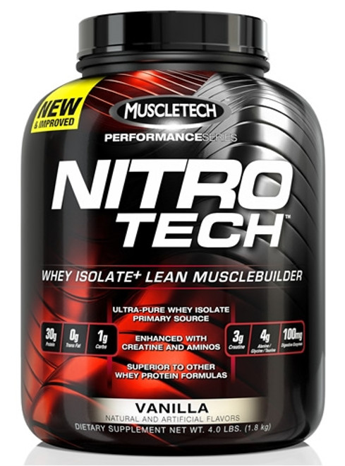 Muscletech NITRO TECH Performance Series 1.8 KG (4 LB)