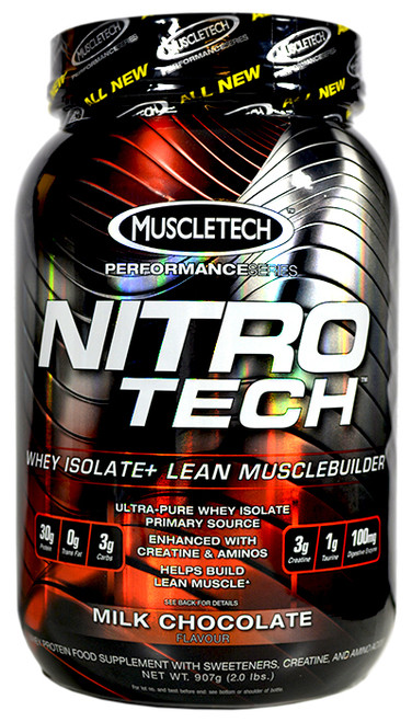 Muscletech NITRO TECH Performance Series 907 G (2 LB)
