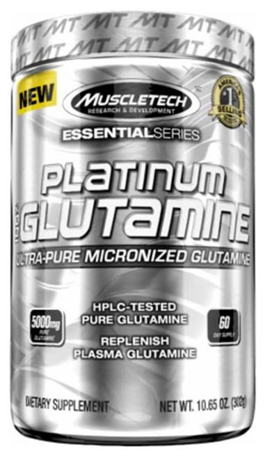 Muscletech Platinum 100% GLUTAMINE 300 G (10.65 OZ)