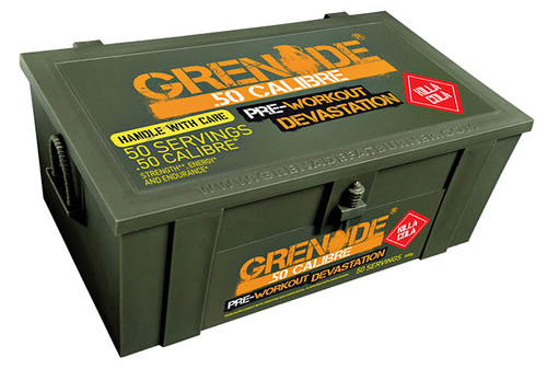 Grenade .50 CALIBRE Pre Workout 580 G (50 Servings)