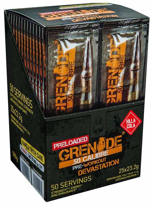 Grenade .50 CALIBRE PRELOADED 25 Sachets Pack