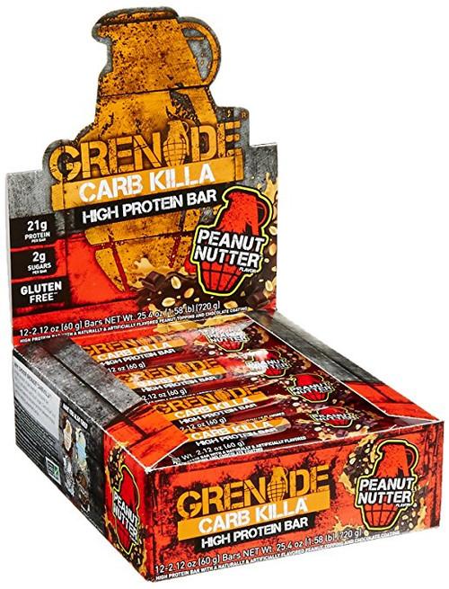 Grenade CARB KILLA Bars x 12 Pack 60 G