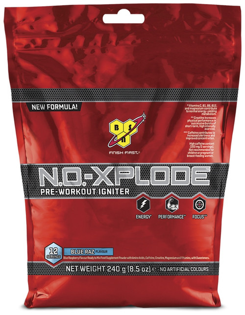 BSN N.O.-XPLODE Pre-Workout Igniter 240 G (12 Servings)